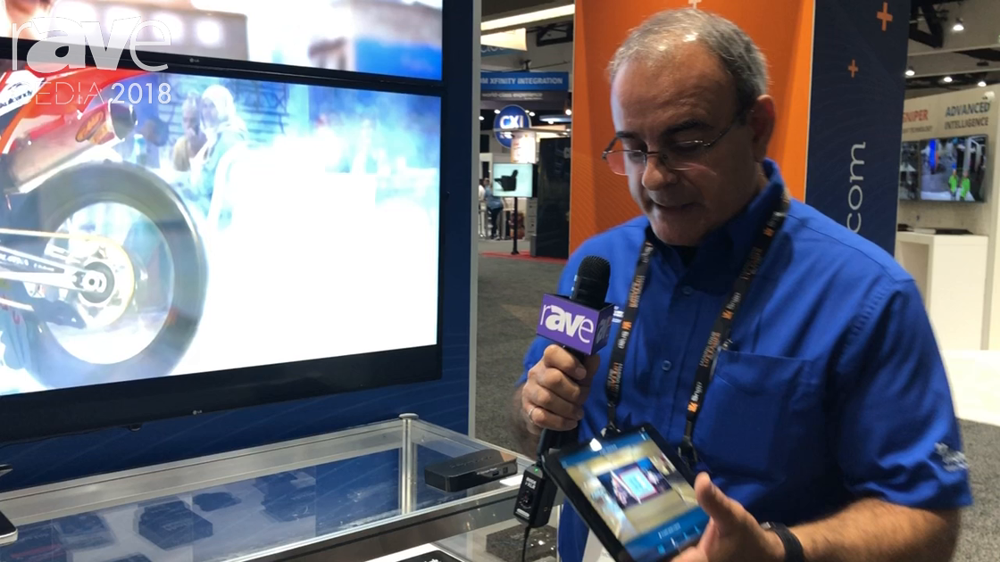 CEDIA 2018: MuxLab Demos Control Software for AV-Over-IP Devices