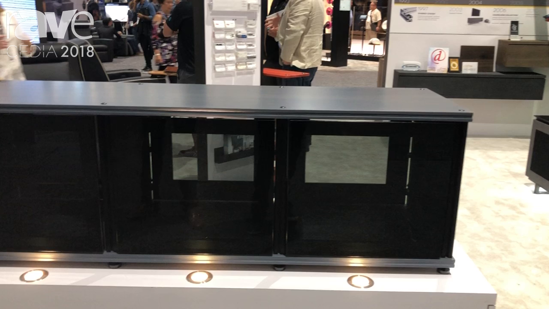 CEDIA 2018: Salamander Designs Features Synergy Cabinet System