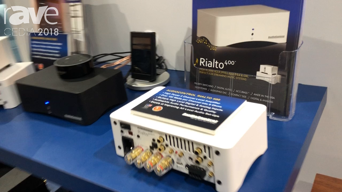 CEDIA 2018: AudioControl Shows Rialto 400 Local Zone Amplifier