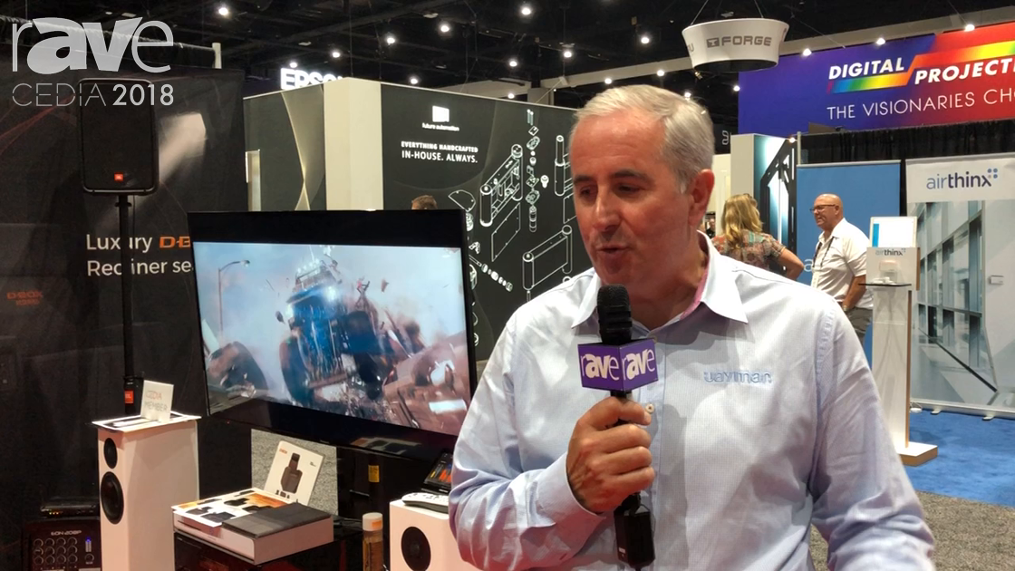 CEDIA 2018: Jaymar Talks Furniture Solutions With D-BOX Integration