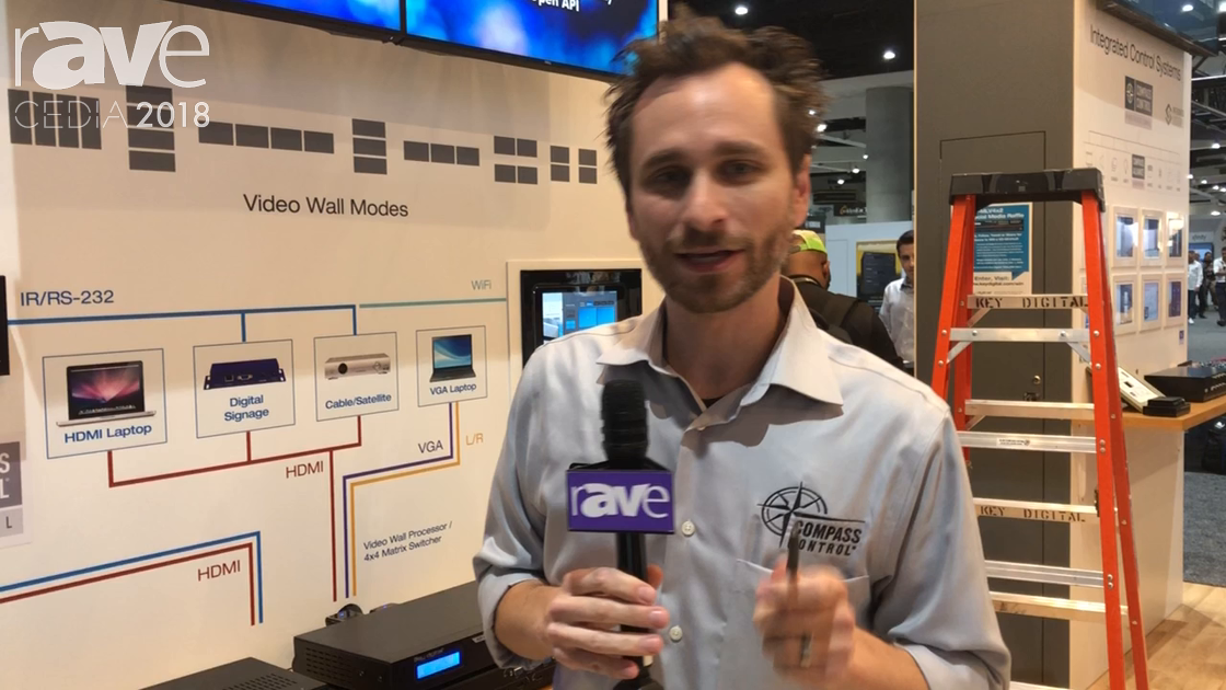 CEDIA 2018: Key Digital Presents KD-MS4x4G 18Gig Matrix Switcher