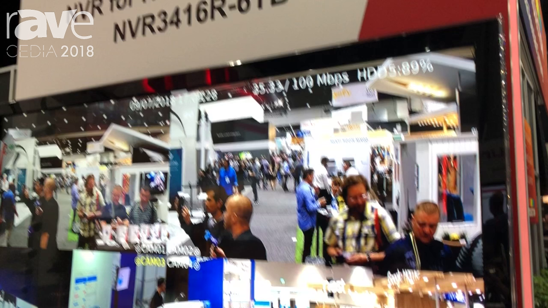 CEDIA 2018: LILIN Talks About NVR for Home Automation