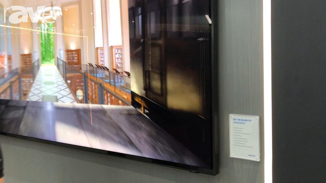 CEDIA 2018: Samsung Debuts 8K Q9100 QLED TV
