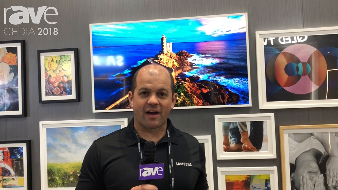 CEDIA 2018: Samsung Discusses Frame TV Bridging Gap Between Art, Design and AV