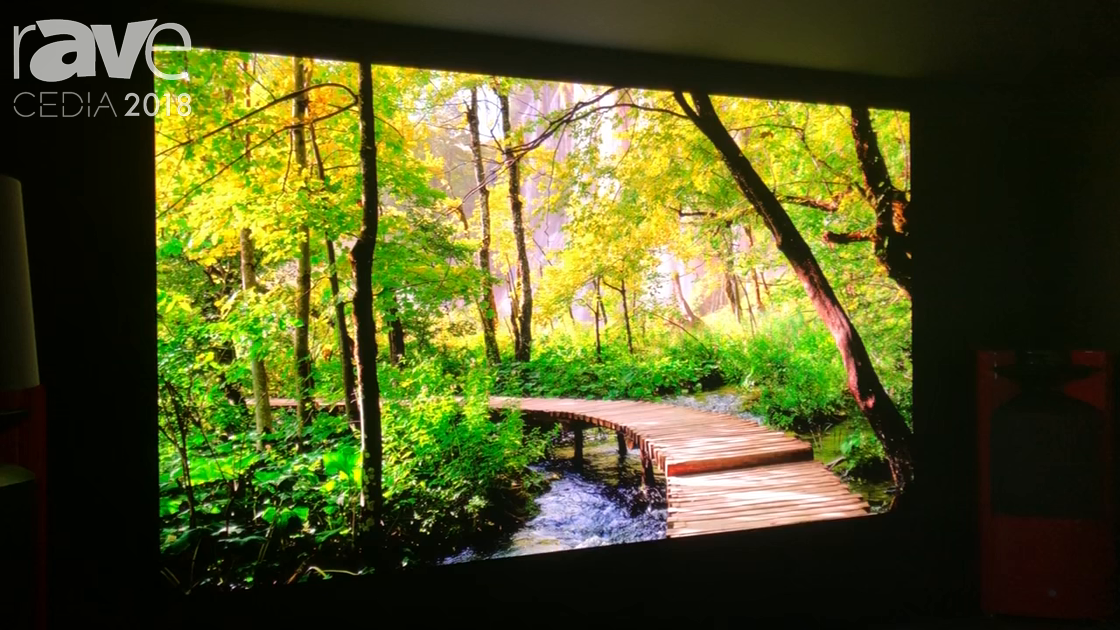 CEDIA 2018: Samsung Presents The Wall MicroLED Display With .86mm Pitch