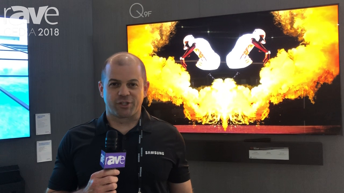 CEDIA 2018: Samsung Shows Off Q9F QLED TV