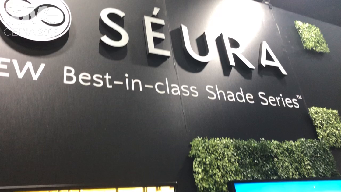 CEDIA 2018: Séura Showcases Shade Series Displays for Outdoor Applications