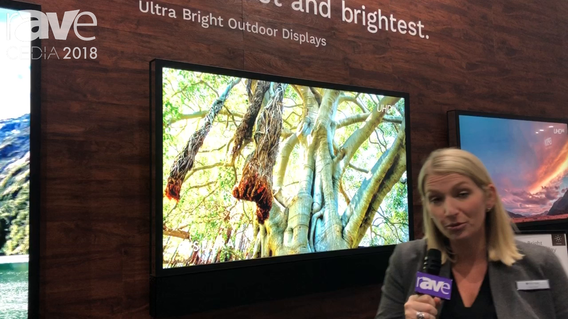 CEDIA 2018: Séura Shows Ultra Bright Outdoor TV