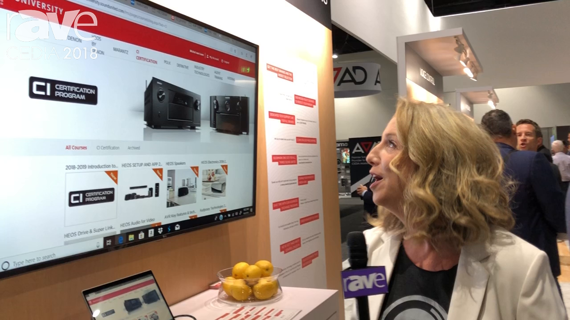 CEDIA 2018: Sound United Highlights Sound United University Content Portal for Dealers