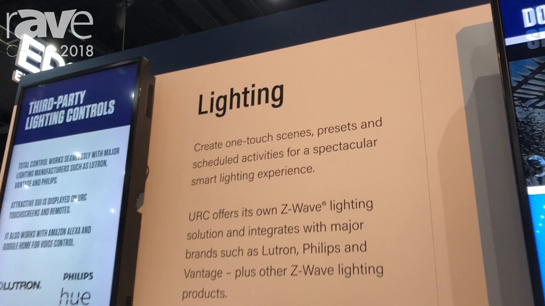 CEDIA 2018: Universal Remote Control Demos Alexa-Controlled Lighting Solutions