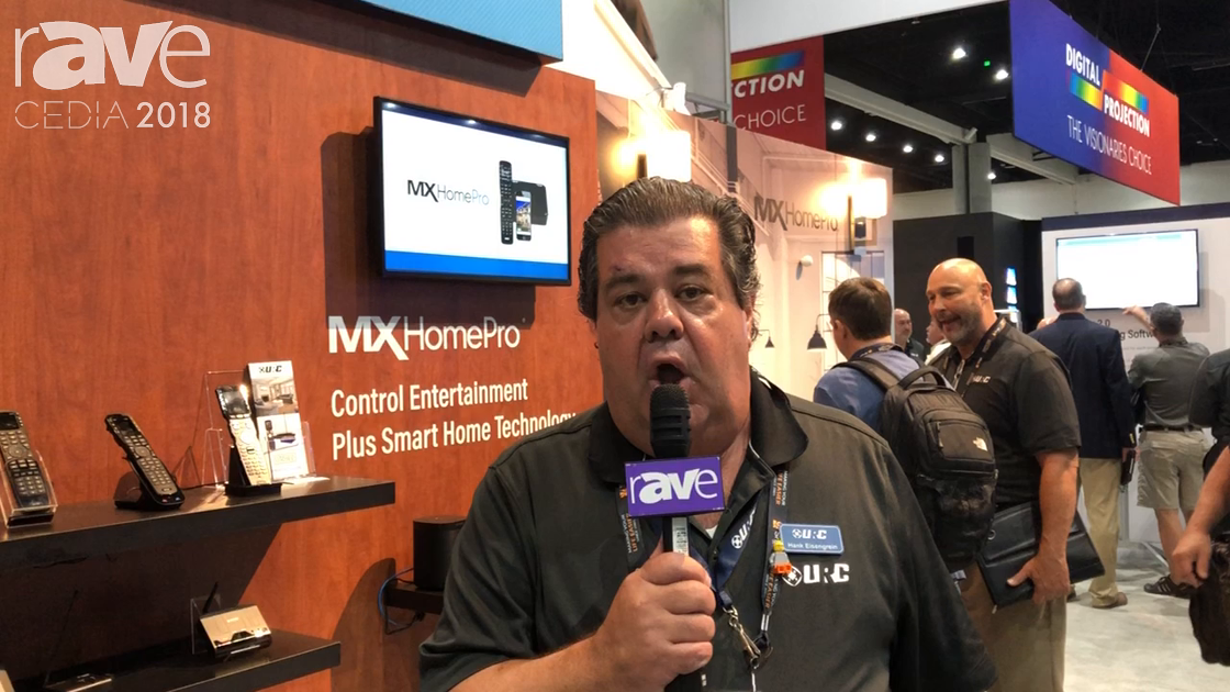 CEDIA 2018: Universal Remote Control Discusses Complete Control Product Line