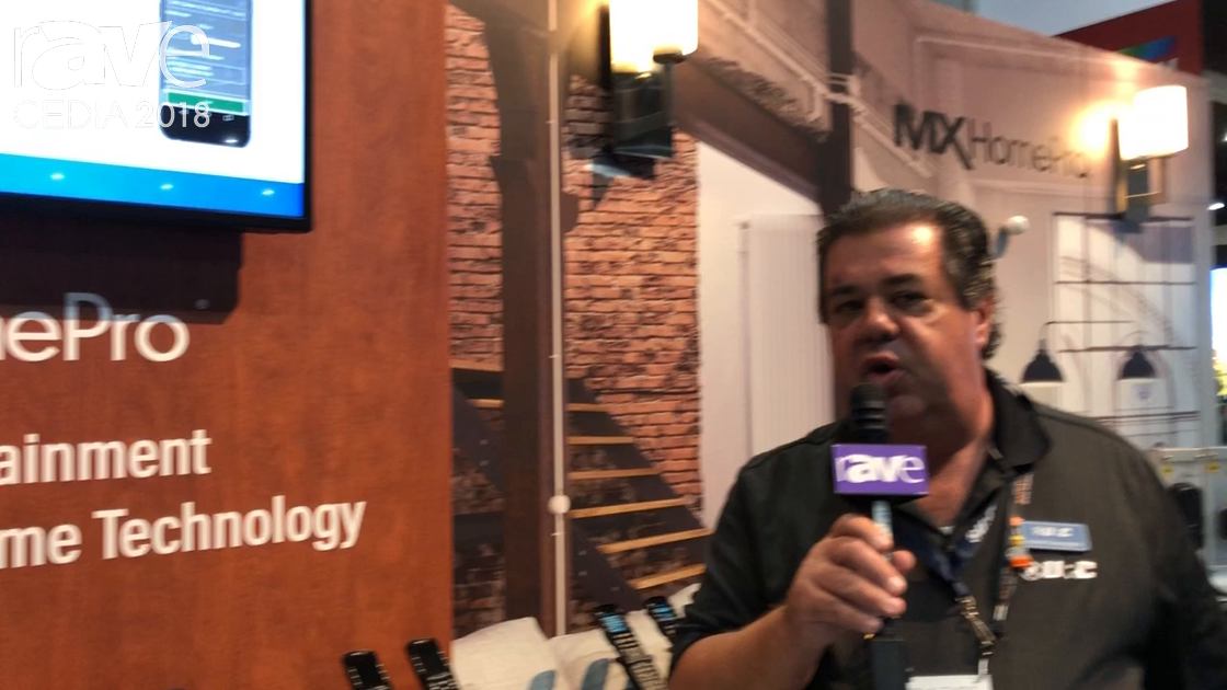 CEDIA 2018: Universal Remote Control Discusses MXHomePro Control System