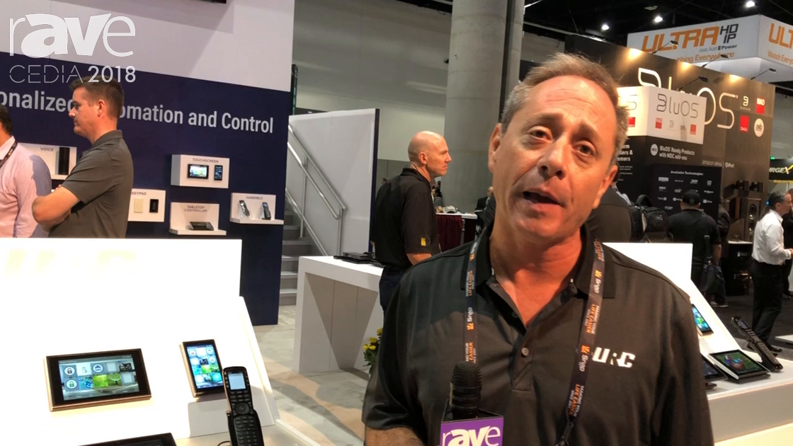 CEDIA 2018: Universal Remote Control Shows Line of Touchpanel Products