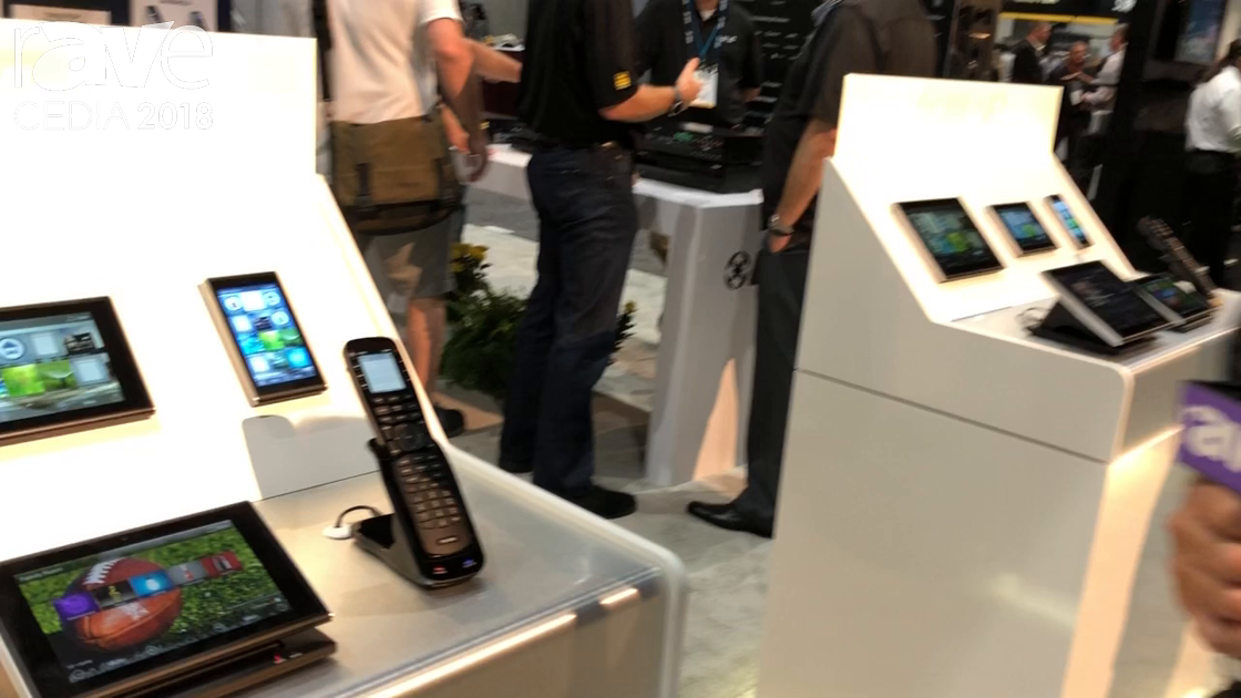CEDIA 2018: Universal Remote Control Shows TRC-1080 from Total Control Remote Line