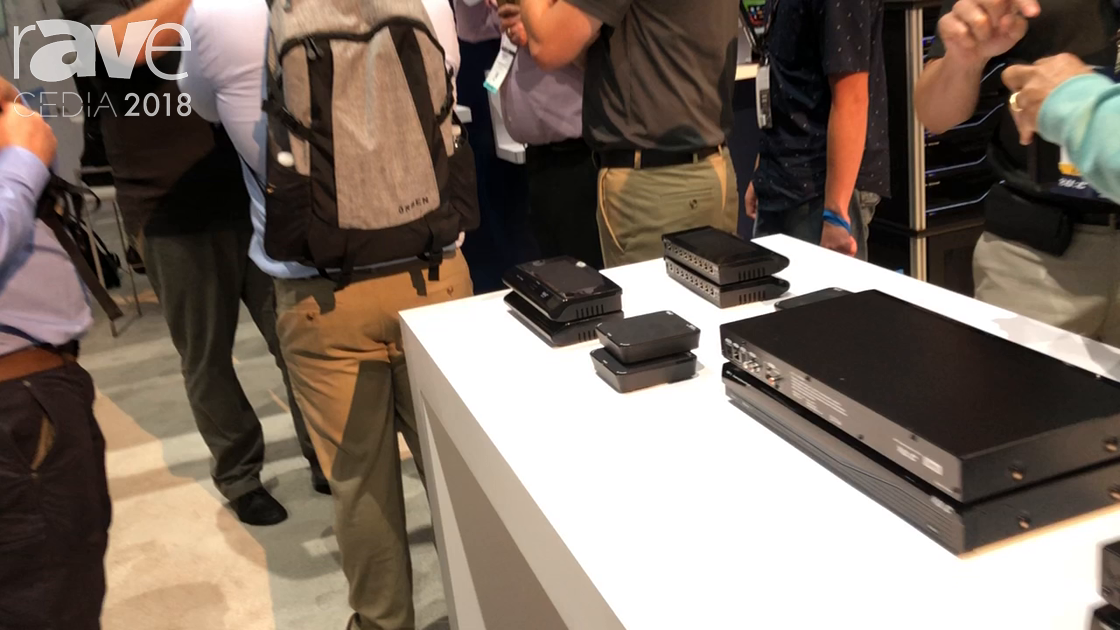 CEDIA 2018: Universal Remote Control Talks About DMS-1200 Multi Zone Amplifier