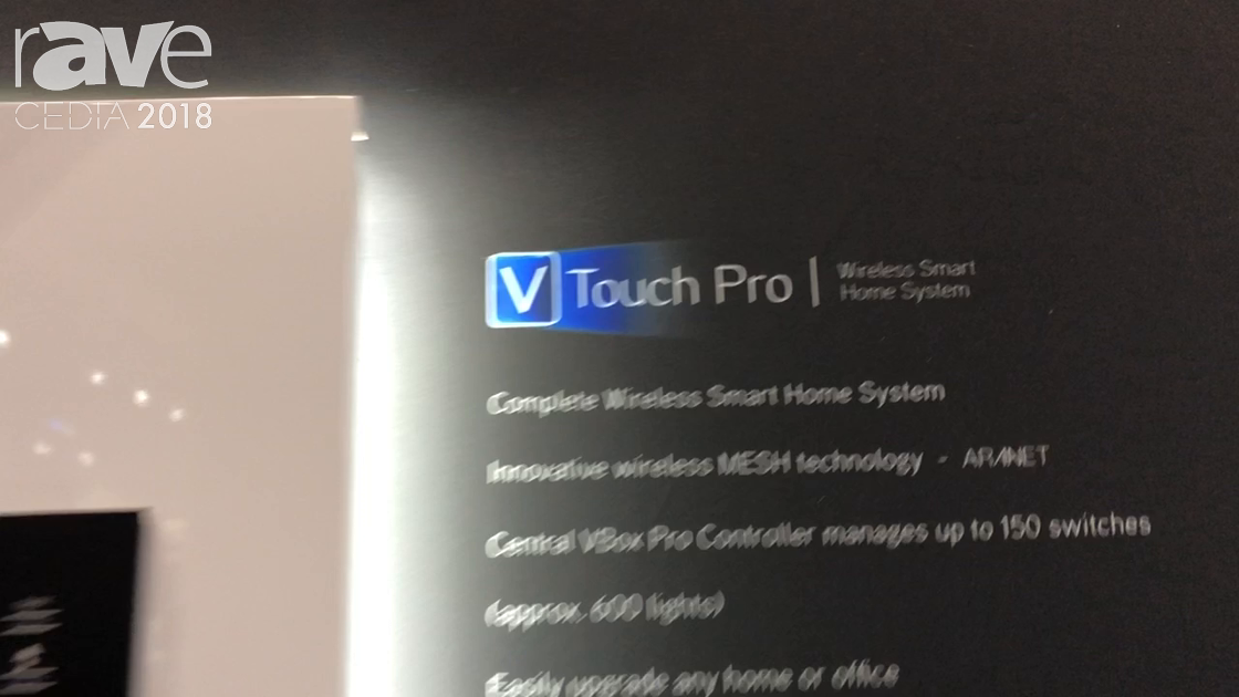 CEDIA 2018: VITREA Presents VTouchPro Switches and Keypads