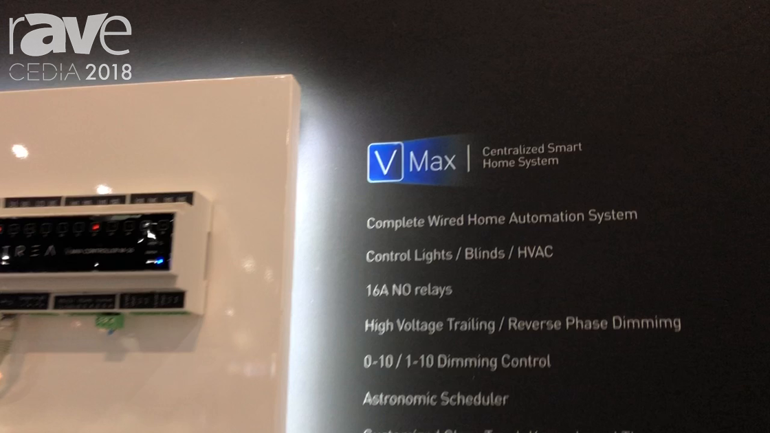 CEDIA 2018: VITREA Shows Off VMaX Centralized Home System