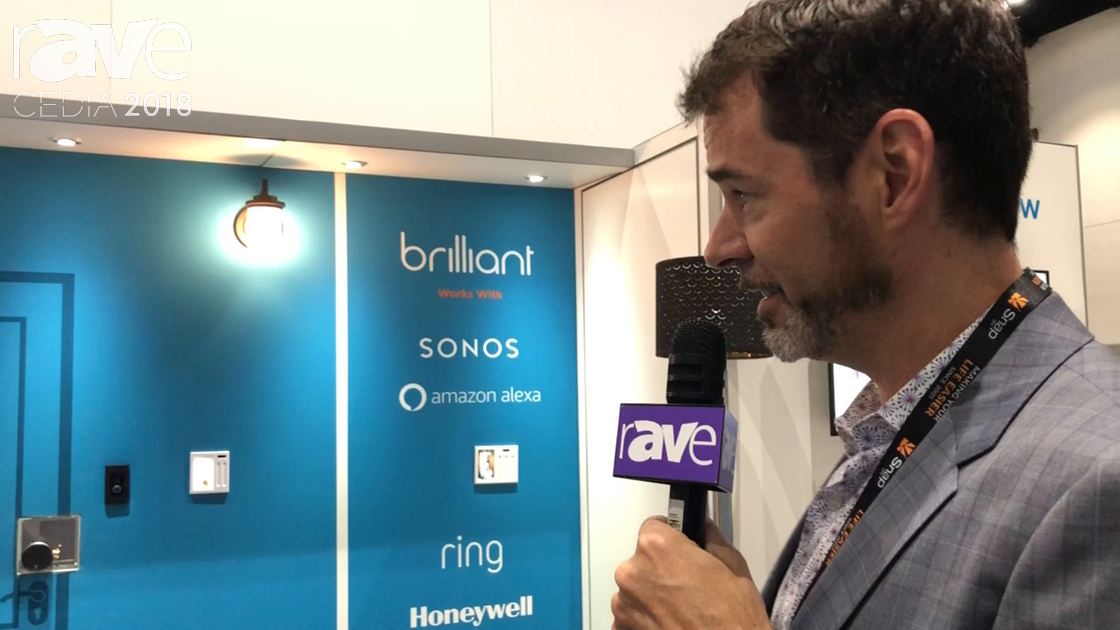 CEDIA 2018: Brilliants Talks About Whole-Home Control and Automation System