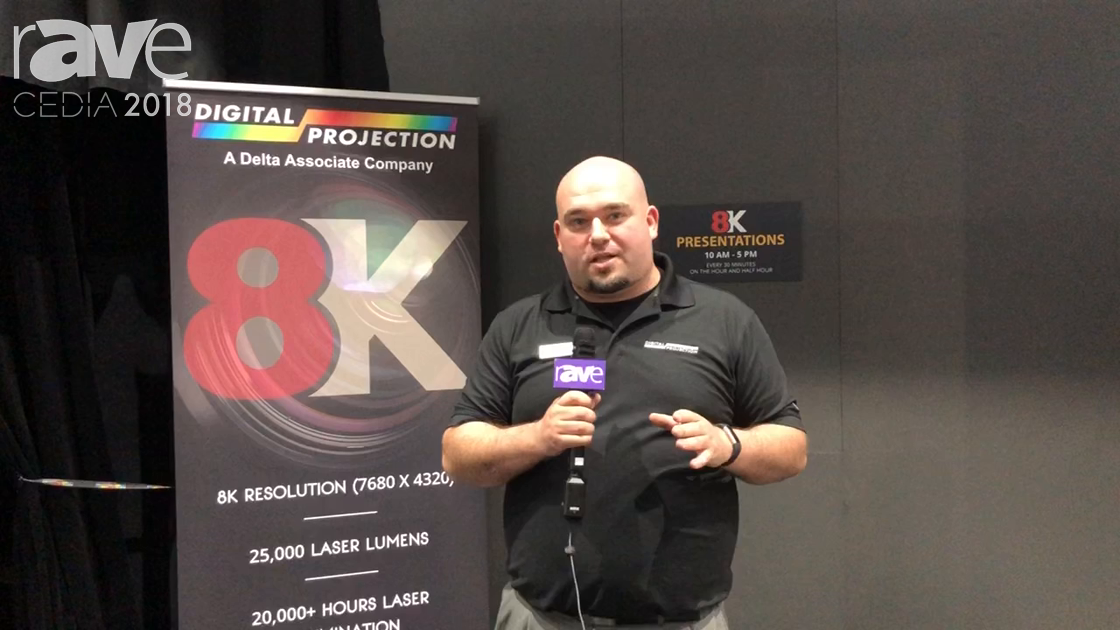CEDIA 2018: Digital Projection Talks About INSIGHT LASER 8K Projector