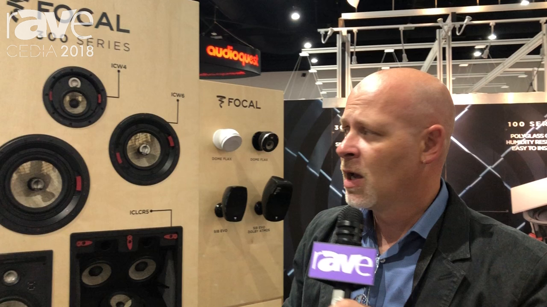 CEDIA 2018: Focal Discusses 300 Series Line of Speakers That Require No Tools for Install