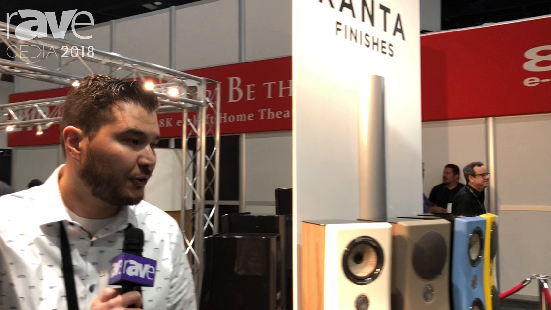 CEDIA 2018: Focal Shows Off Kanta Speaker Series