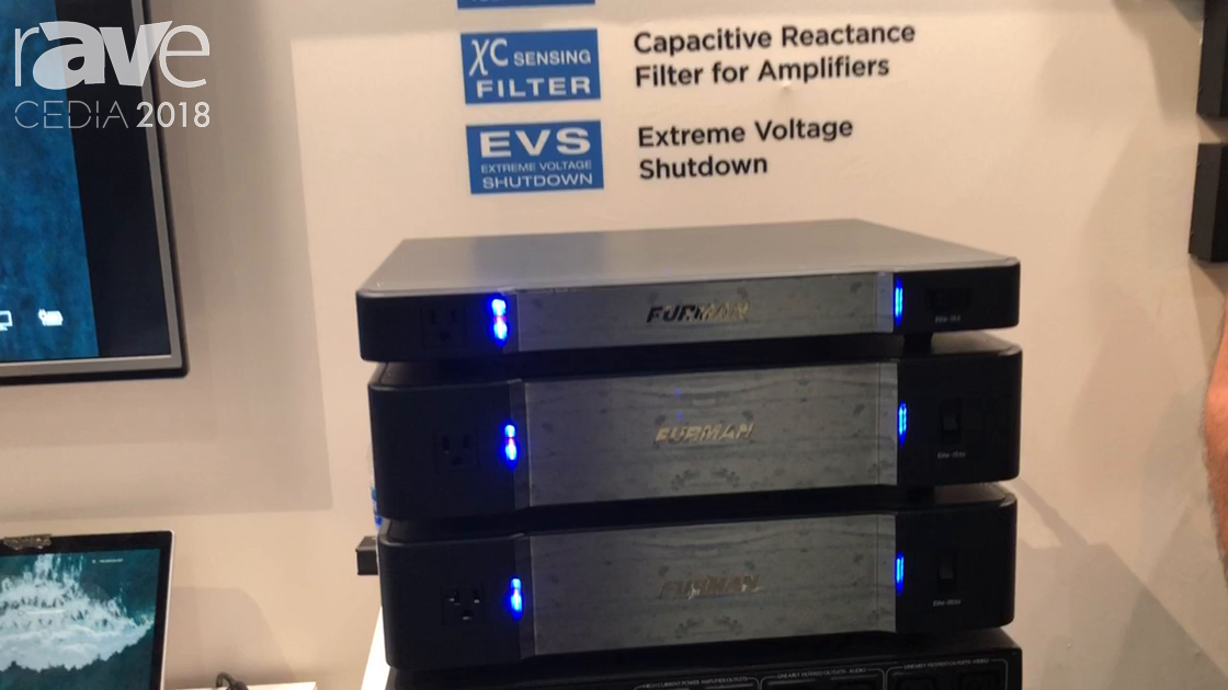 CEDIA 2018: Furman Displays Elite-X Series of Power Conditioners at Nortek Security Booth