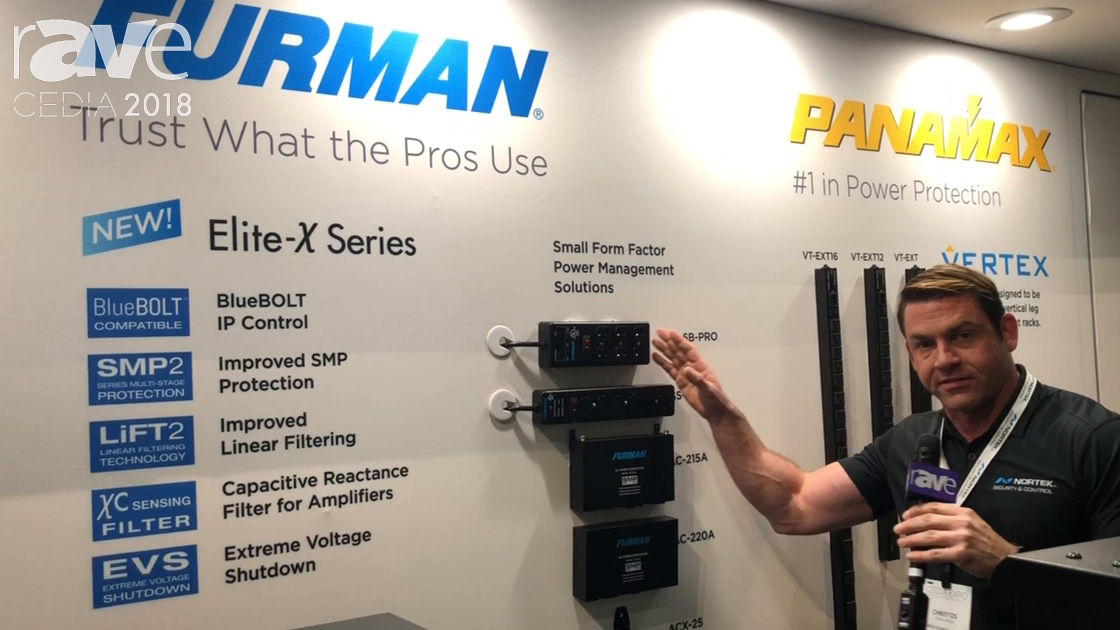 CEDIA 2018: Furman Displays Power Management Devices at Nortek Security Booth