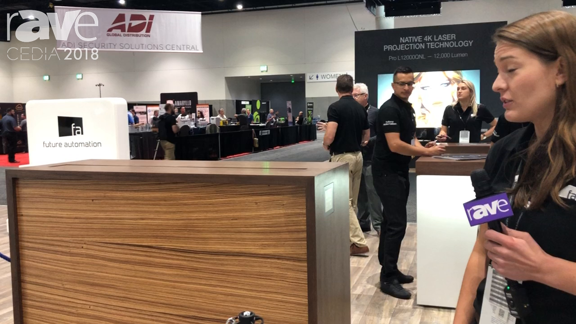 CEDIA 2018: Future Automation Exhibits Servo Technology for Lifts