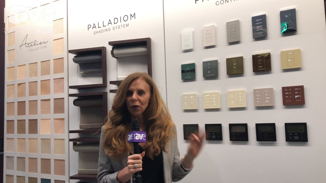 CEDIA 2018: Lutron Presents Palladiom Controls and Shades and Ketra Lighting