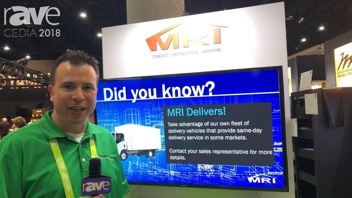 CEDIA 2018: MRI Talks About Distribution Services at PowerHouse Alliance Booth