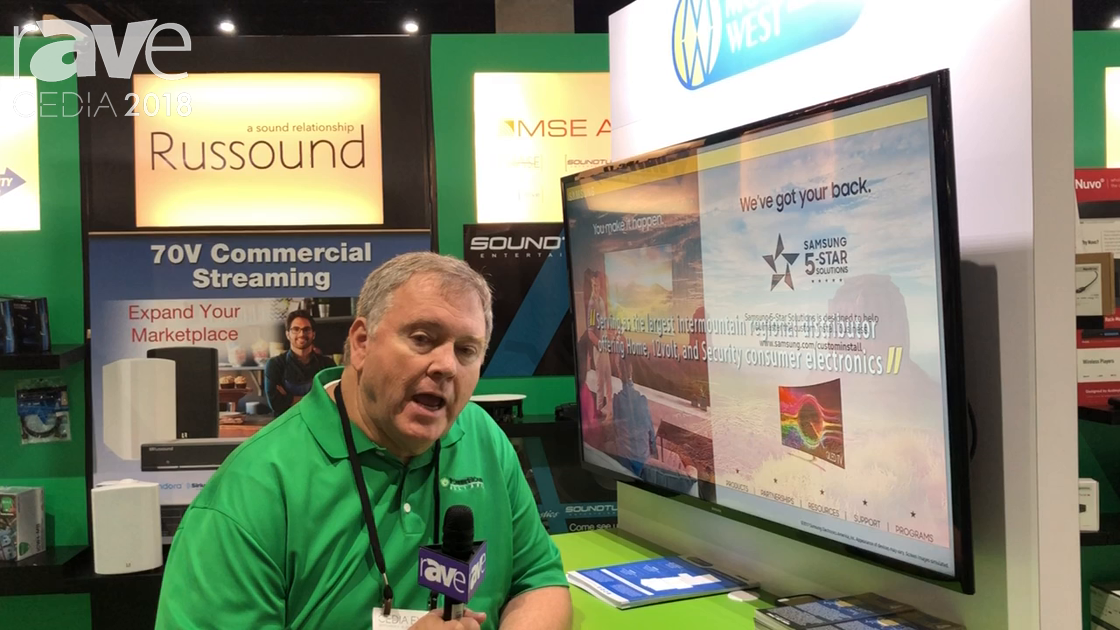 CEDIA 2018: Mountain West Distributers Talks Distribution Services at PowerHouse Alliance Booth