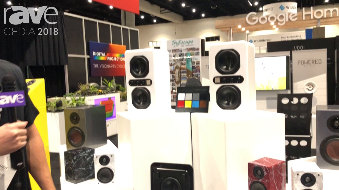 CEDIA 2018: TruAudio Talks About Home Cinema Speaker Line