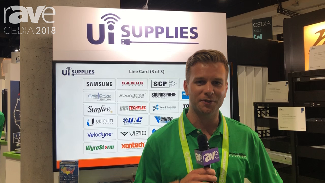 CEDIA 2018: Ui Supplies Talks About Services at PowerHouse Alliance Booth