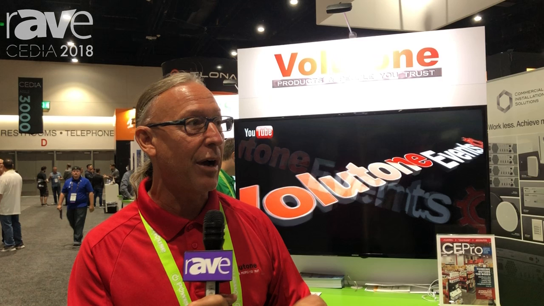 CEDIA 2018: Volutone Talks Distribution Services for SW US Markets at PowerHouse Alliance Booth