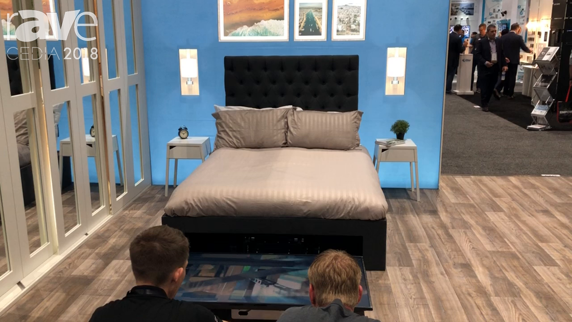 CEDIA 2018: Future Automation Showcases UBLS-EBF Under-Bed Lift