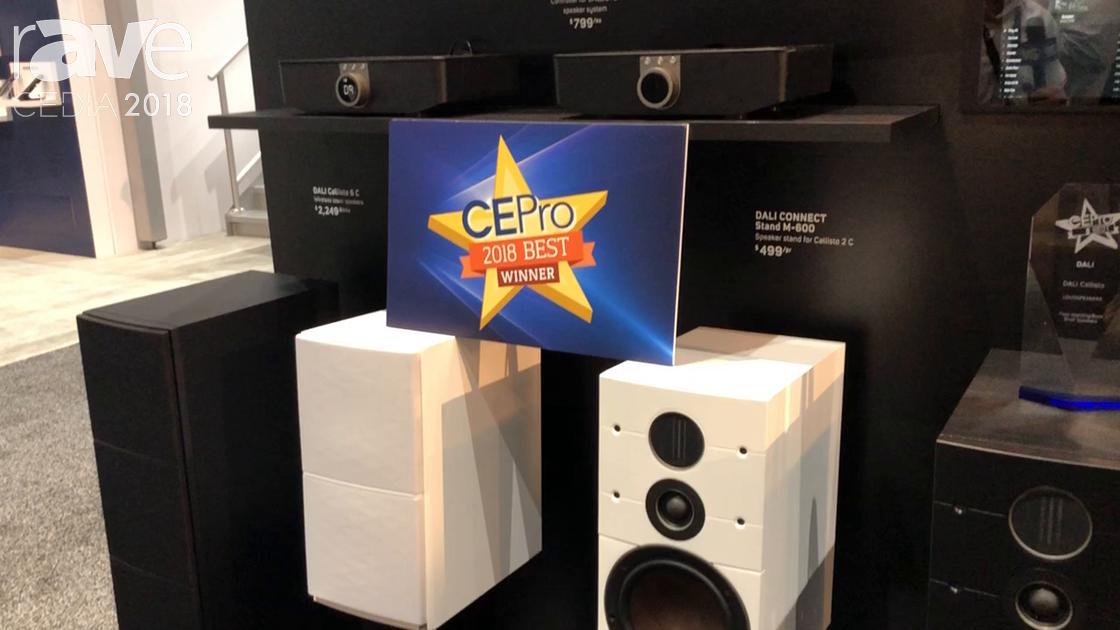 CEDIA 2018: NAD Electronics Features DALI Callisto Loudspeakers