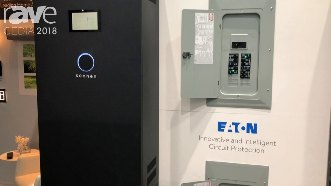 CEDIA 2018: PanTech Design Demos ecoLinx Energy Automation System with Adapt, Sonnen and Eaton Tech