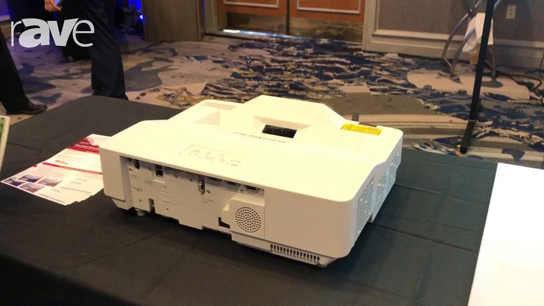 E4 AV Tour: Hitachi Highlights Its LP-AW4001 Ultra Short-Throw Projector