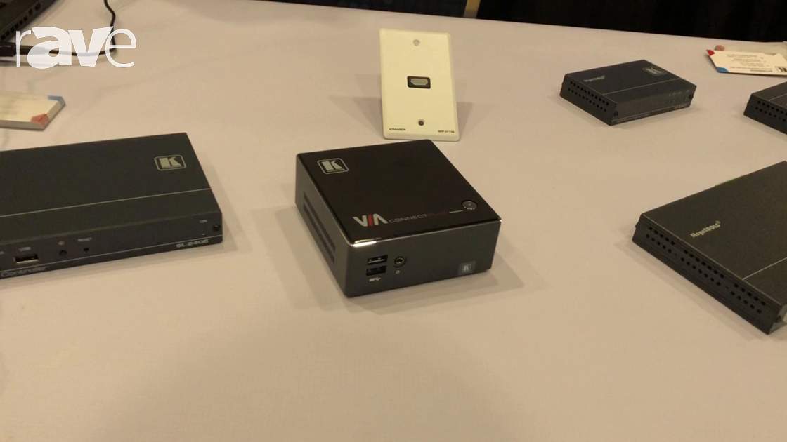 E4 AV Tour: Kramer Shows VIA Connect PLUS Wired and Wireless Presentation and Collaboration Solution