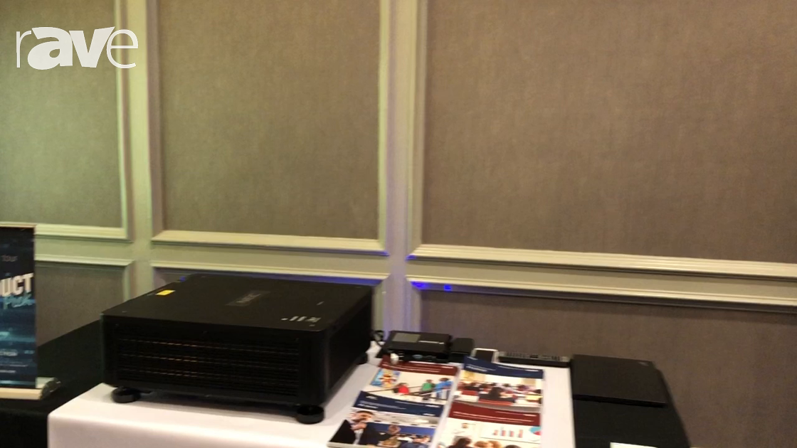 E4 AV Tour: NEC Display Shows PX1005QL Projector, C551 55″ Display and 86″ C861Q Display