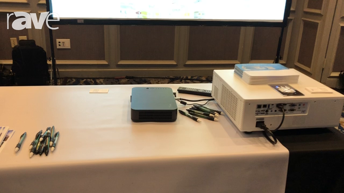 E4 AV Tour: Optoma Features LH150 Portable Projector with LED Light Source and Built-In Battery