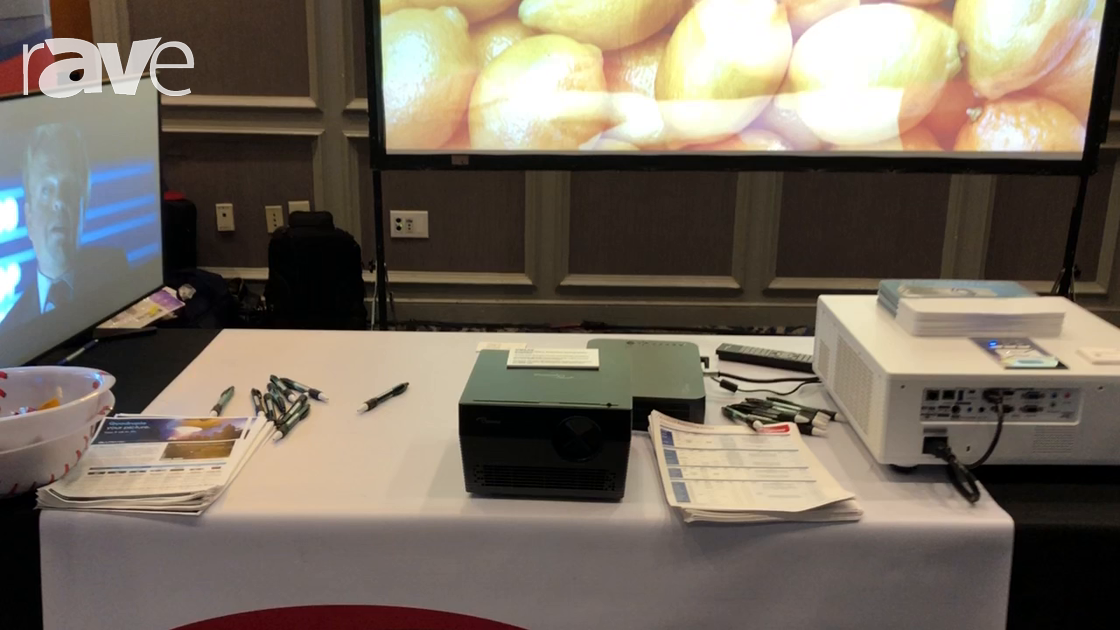 E4 AV Tour: Optoma Shows New 4K UHL55 Amazon Alexa and Google Assistant Enabled Projector