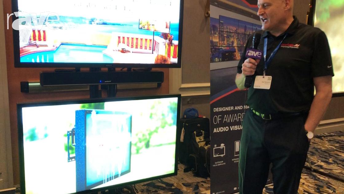E4 AV Tour: Peerless-AV Shows Xtreme High Bright Display for Outdoor Digital Signage Applications