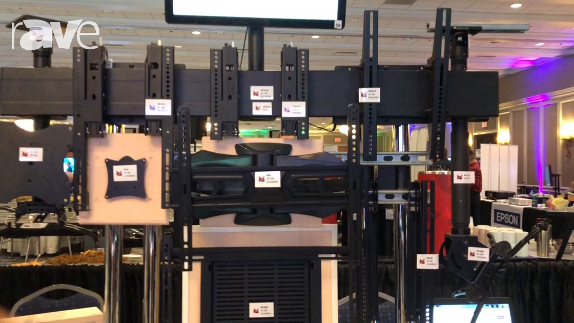 E4 AV Tour: Premier Mounts Shows World-Famous Giveaways, AM65 Wall Mount and In-Wall Mounting Box