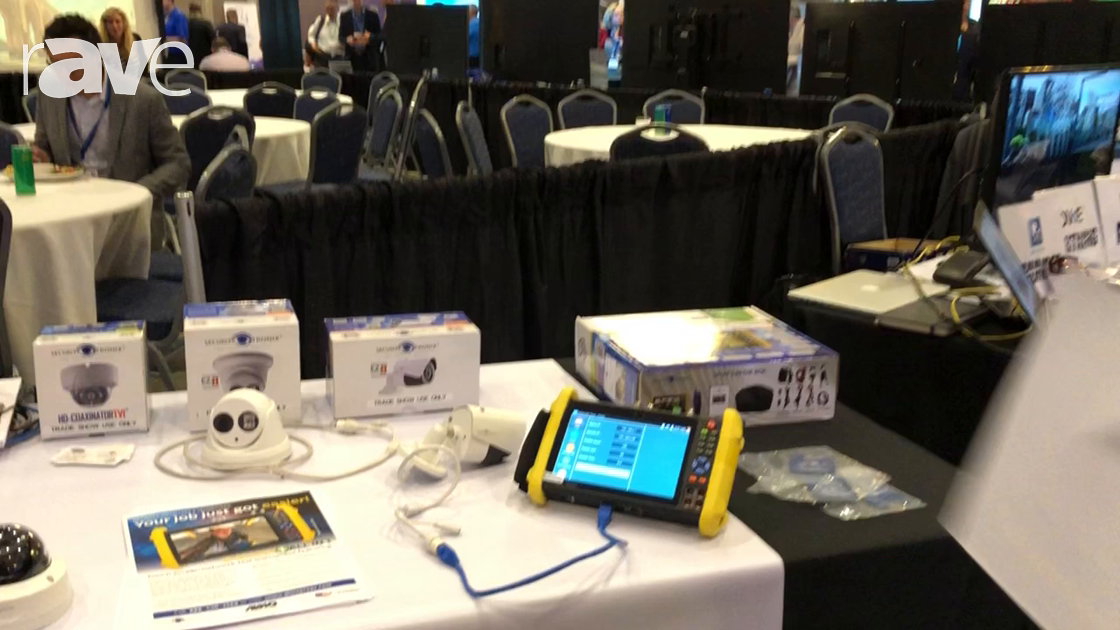 E4 AV Tour: SecurityTronix Shows IP BUDDY+ All-in-One Test Meter for Installing and Testing Networks