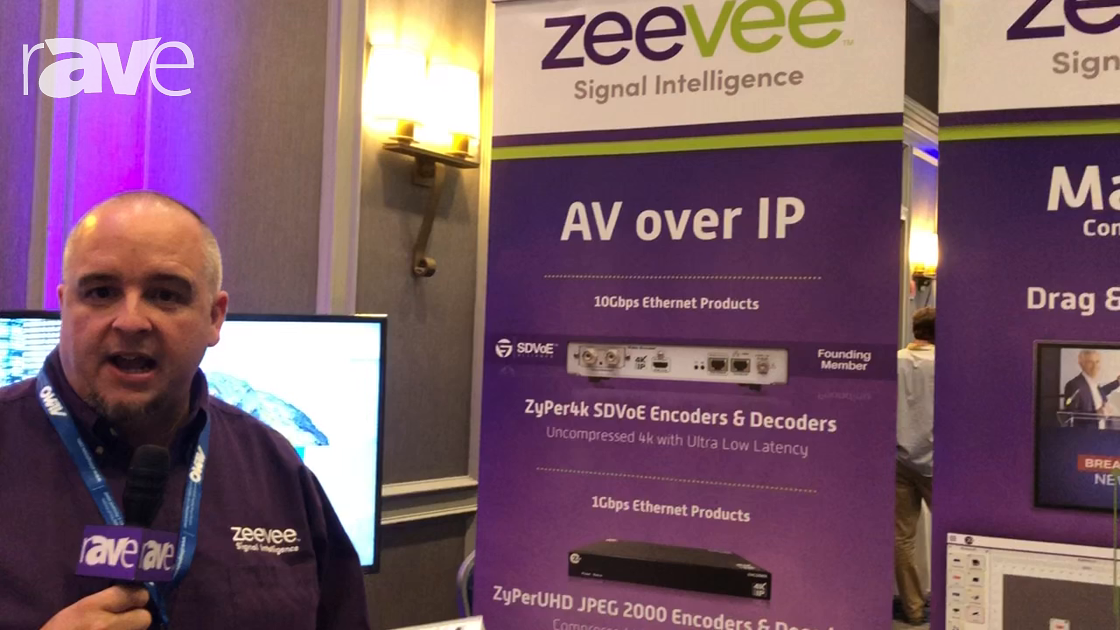 E4 AV Tour: ZeeVee Talks About LineUp of AV-over-IP Solutions for a Number of Different Applications