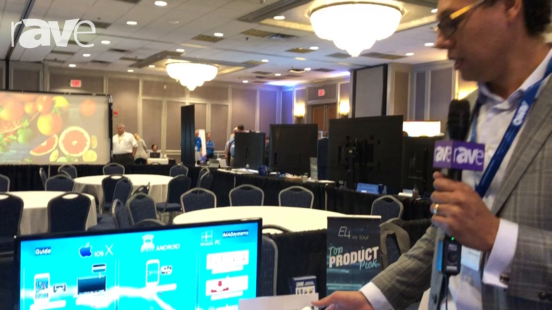 E4 AV Tour: iMAGsystems Demos AIR, a Wireless Presentation Device and Switcher