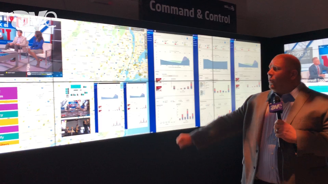 NEC NY Showcase: NEC Display Overviews Command & Control Display Solutions with Hiperwall Software