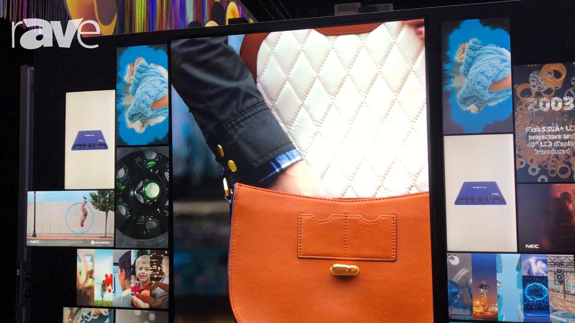 NEC NY Showcase: NEC Display Presents Mosaic Feature with EX241UN Desktop Displays and V984Q Display