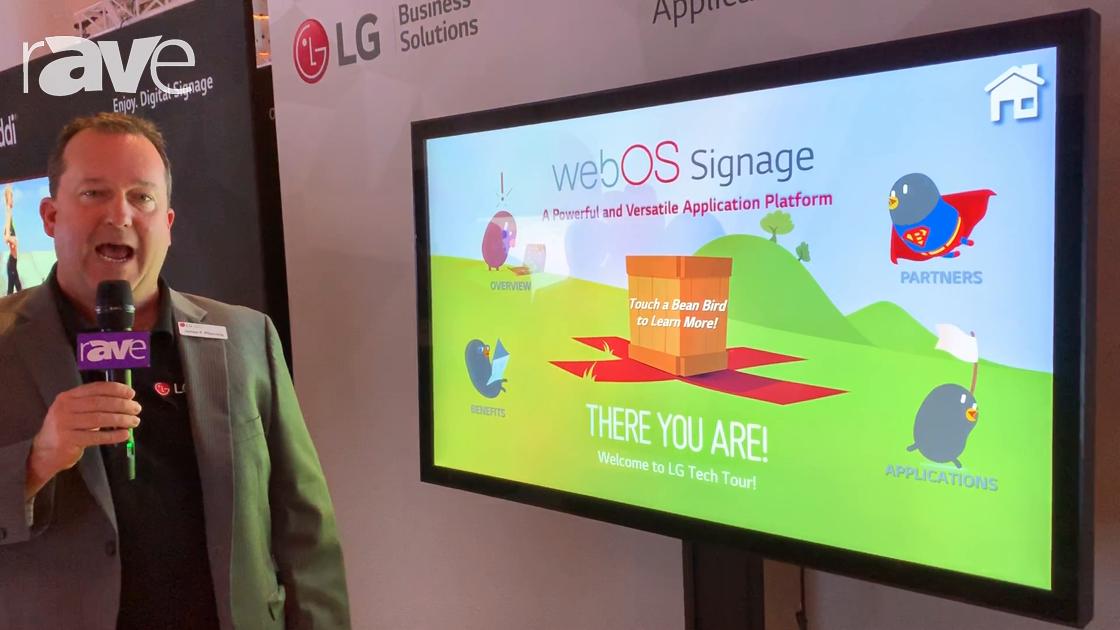 NYDSW 2018: LG Demos webOS Signage Software Platform